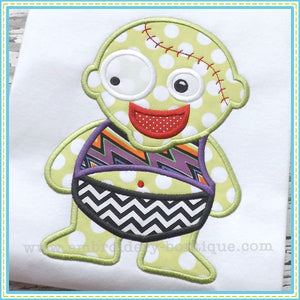 Baby Boy Zombie Applique