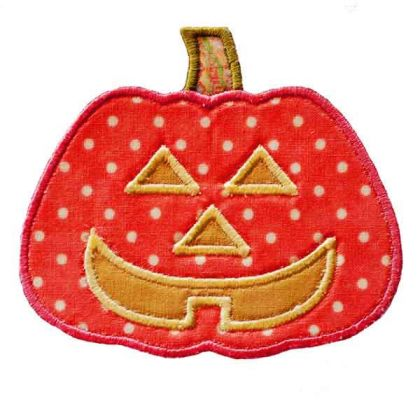 Jackolantern Applique - embroidery-boutique