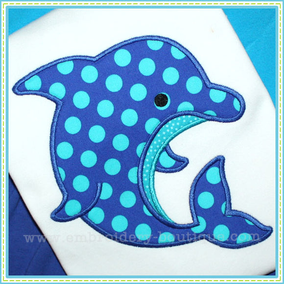 Dolphin 2 Applique, Applique