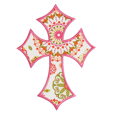 Cross Applique - embroidery-boutique