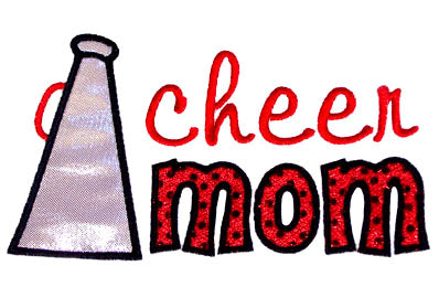 Cheer Mom Applique - embroidery-boutique