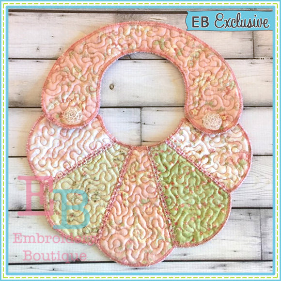 ITH Scalloped Fan Bib