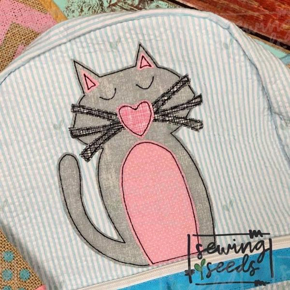 Cat Applique SS, Applique