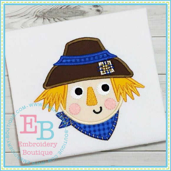Scarecrow Applique - embroidery-boutique