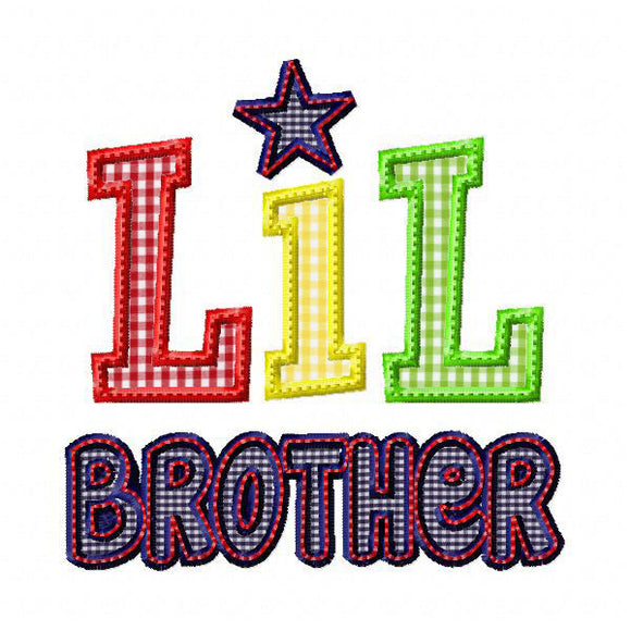 Lil Brother 2 Applique