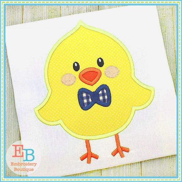 Little Chick Boy Satin Applique