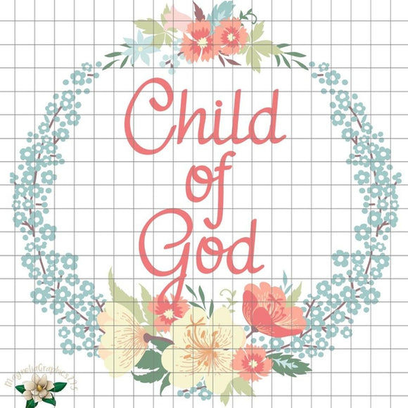 Child of God PNG Printable Design