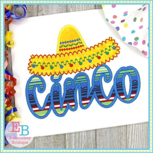 Cinco Applique