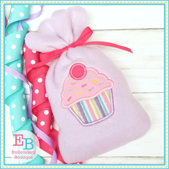 In The Hoop Cupcake Treat Bag-Embroidery Boutique