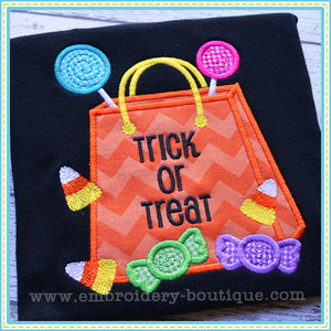 Treat Bag Applique