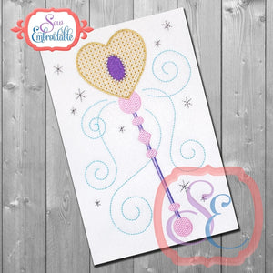 Magic Wand Embroidery Design - embroidery-boutique