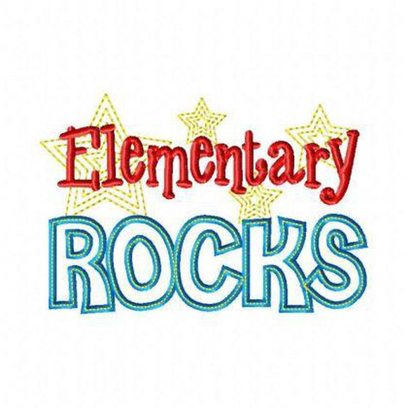 Elementary Rocks - embroidery-boutique