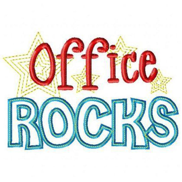 Office Rocks, Applique