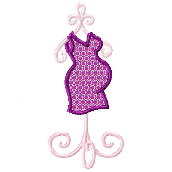 Maternity Form Applique
