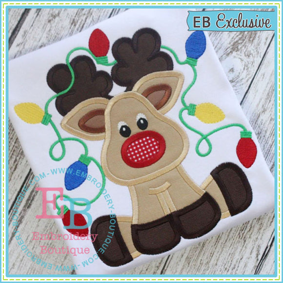 Tangled Deer Applique