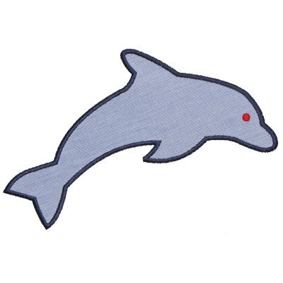 Dolphin Applique - embroidery-boutique