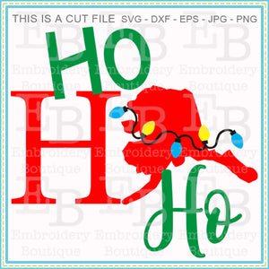 Ho Ho Ho Alaska SVG, SVG Cut Files