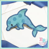 Dolphin 3 Applique - Embroidery Boutique
