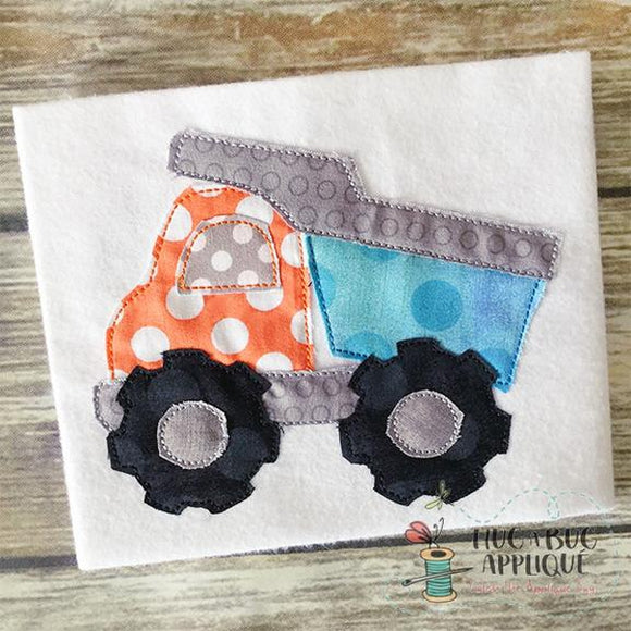 Dump Truck Bean, Embroidery