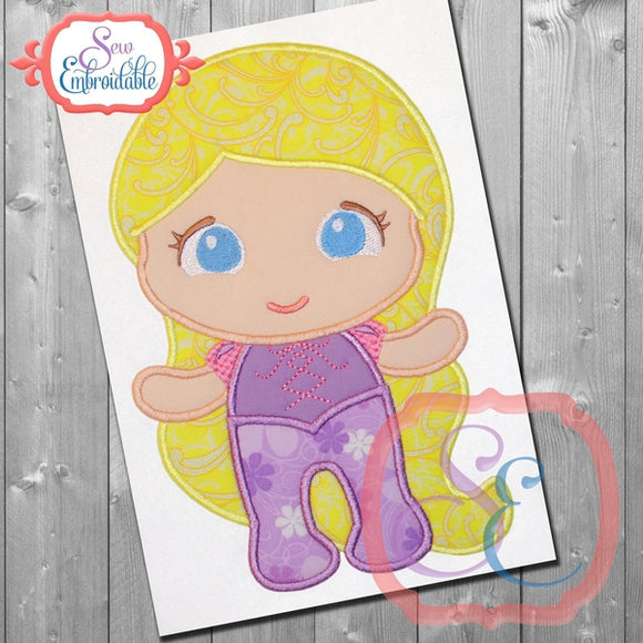 Baby Princess 7 Applique