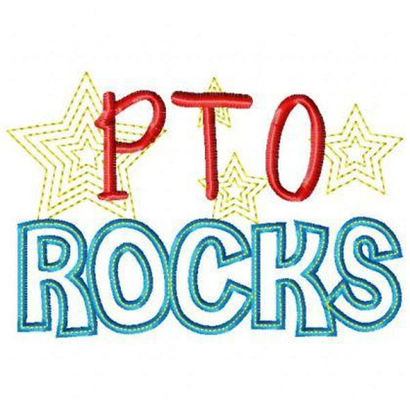PTO Rocks, Applique