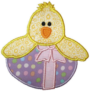 Chick N Egg Applique - embroidery-boutique