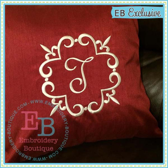 Fleur Frame - embroidery-boutique