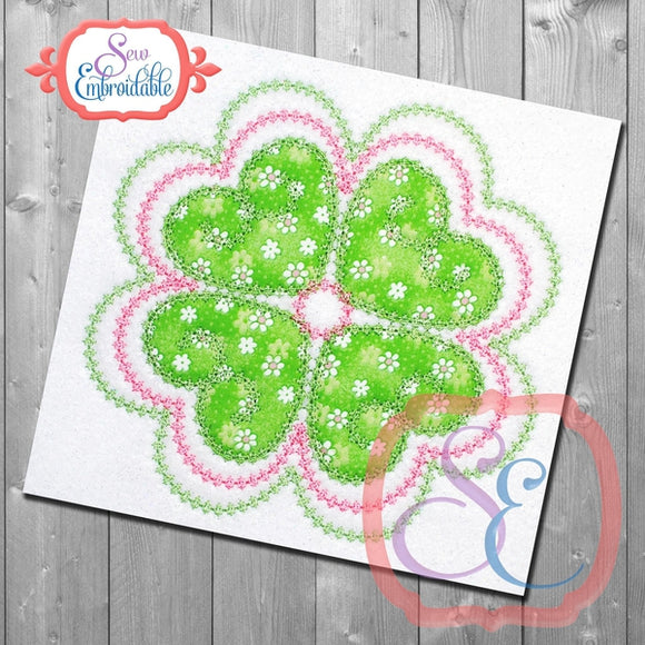 Shamrock Fun Applique, Applique