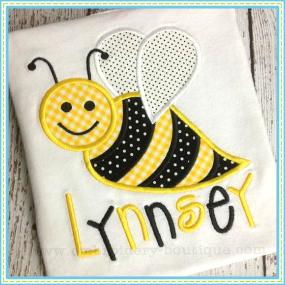 Busy Bee Applique