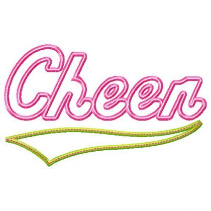 Cheer Applique - embroidery-boutique