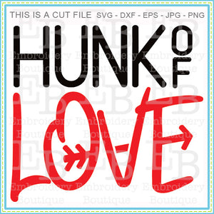 Hunk of Love SVG