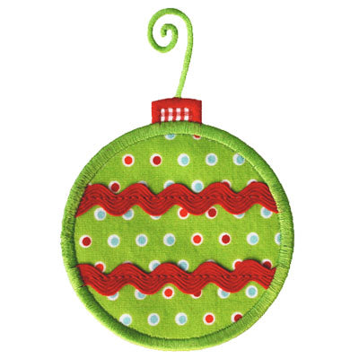 Ric Rac Ornament Applique - embroidery-boutique
