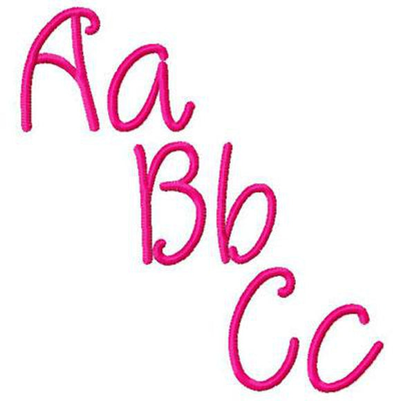 Caroline Alphabet - embroidery-boutique