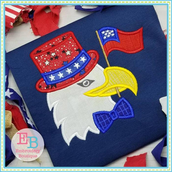 Eagle Flag Applique
