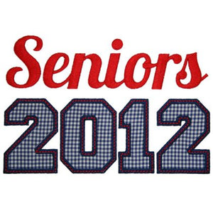 Seniors 2012 - embroidery-boutique