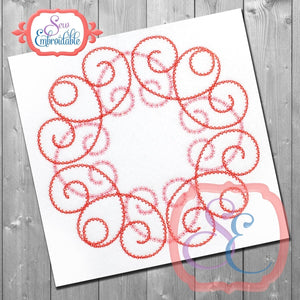 Anne Swirl Embroidery Design