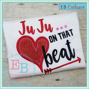 JuJu Beat Applique, Applique