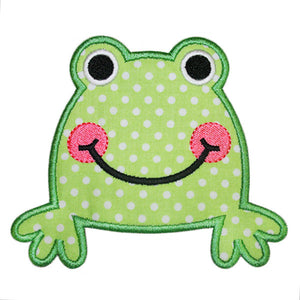 Sweet Frog Applique - embroidery-boutique