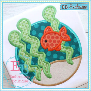 Goldfish Circle Applique
