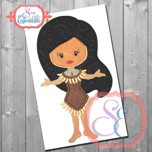 Little Princess 11 Applique - embroidery-boutique