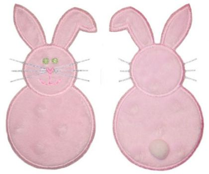 Bunny Front And Back - embroidery-boutique