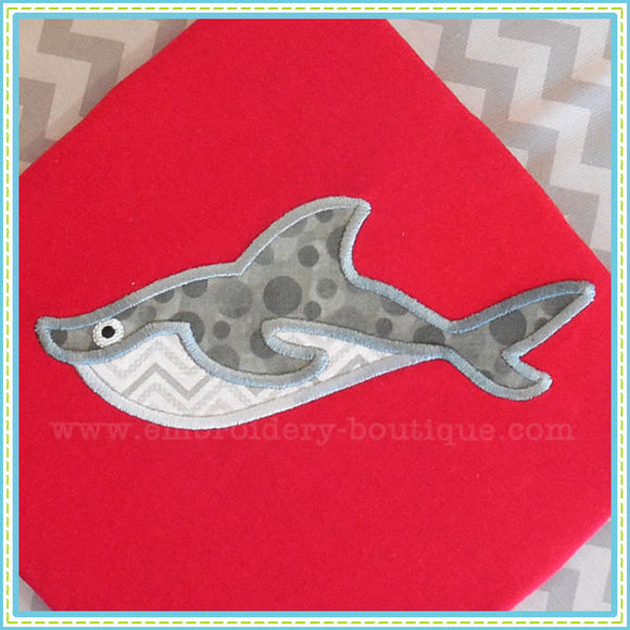 Shark 2 Applique, Applique