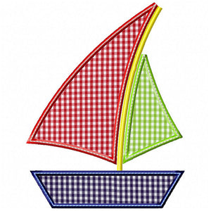 Sailboat 2 Applique
