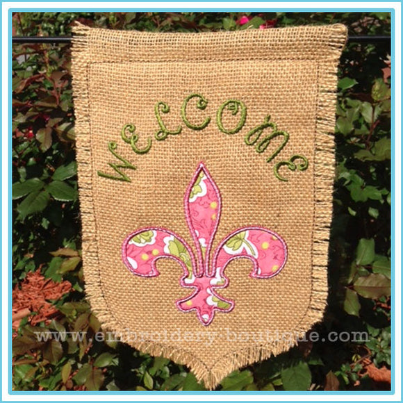 FDL Garden Flag, Applique