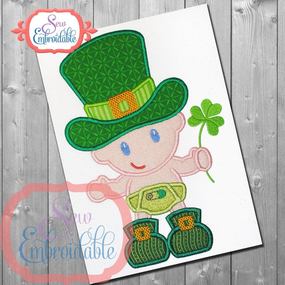 Baby Luck Applique, Applique