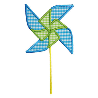 Pinwheel Applique - embroidery-boutique