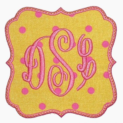 Trendy Patch Applique