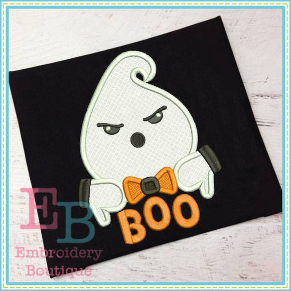 Boo Ghost Applique