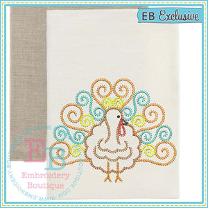 Sketch Swirl Embroidery Design - embroidery-boutique