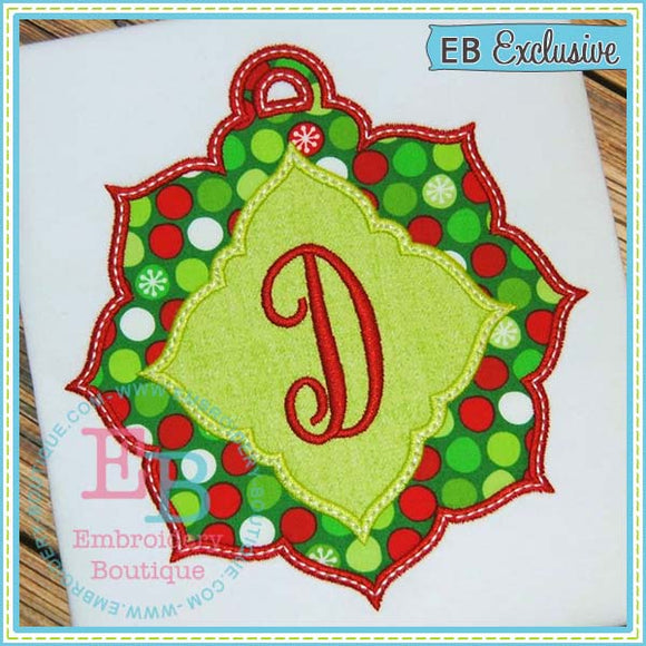 Fancy Ornament Applique